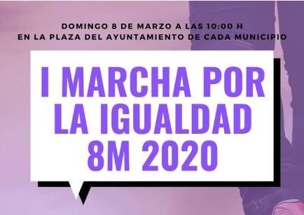 I MARCHA POR LA IGUALDAD 8M 2020