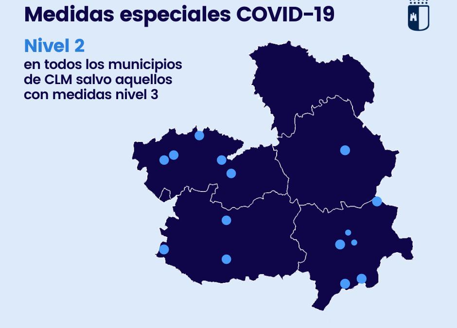 RESOLUCIÓN NIVEL 2 EN TODA CASTILLA-LA MANCHA
